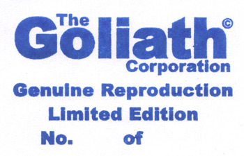 goliath reproduction stamp