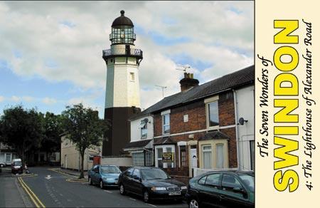 The 7 Wonders Swindon Lighthouse Postcard