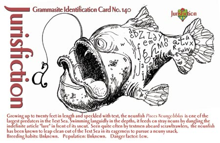 Grammasite Identification Card (postcard)