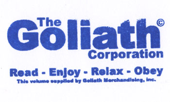 Bookstamp: Goliath Merchandising