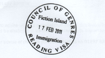 Council of Genres Reading Visa Bookstamp
