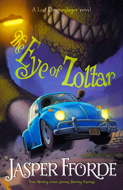 Eye of Zoltar Book cover