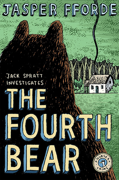 The US covers of 'The Fourth Bear'