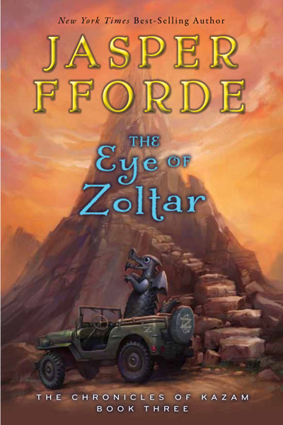 USA Eye of Zoltar Book cover
